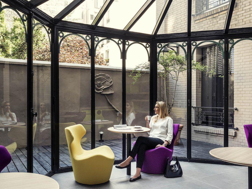 Hotel Mercure Paris Alesia Frederic Prince Le Coworking 4 Etoiles