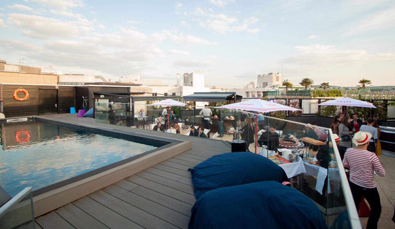 Wojo Spot - Piscine en rooftop